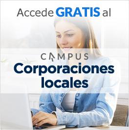 Accede GRATIS al Campus Corporaciones locales