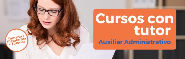Prepárate con nuestro curso online con tutor para las oposiciones de Auxiliar Administrativo de Corporaciones Locales